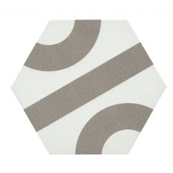 Peronda Dsignio Roll White-Grey 24,8x28,5