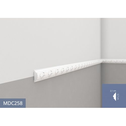 Mardom Prestige MDC258 Listwa ścienna 240x5,3x1,9