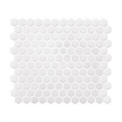 Dunin Arabesco Mini Hexagon White 260x300