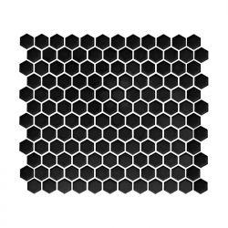 Dunin Arabesco Mini Hexagon Black 260x300