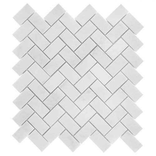 Dunin Black&White Eastern Herringbone 48 305x305