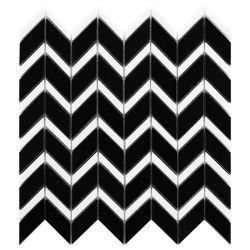 Dunin Black&White Pure Black Chevron Mix 310x305