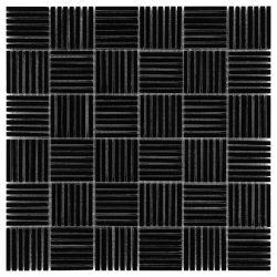 Dunin Black&White Pure Black Tatami 48 305x305