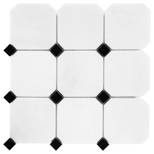 Dunin Black&White Pure B&W Octagon 100 305x305