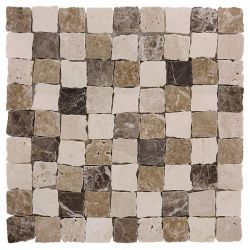 Dunin Travertine Bend Mix 32 matt 305x305