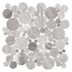 Dunin Woodstone Grey Dot 305x305