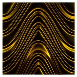 Dunin 3D Mazu Golden Wave 600x600x5