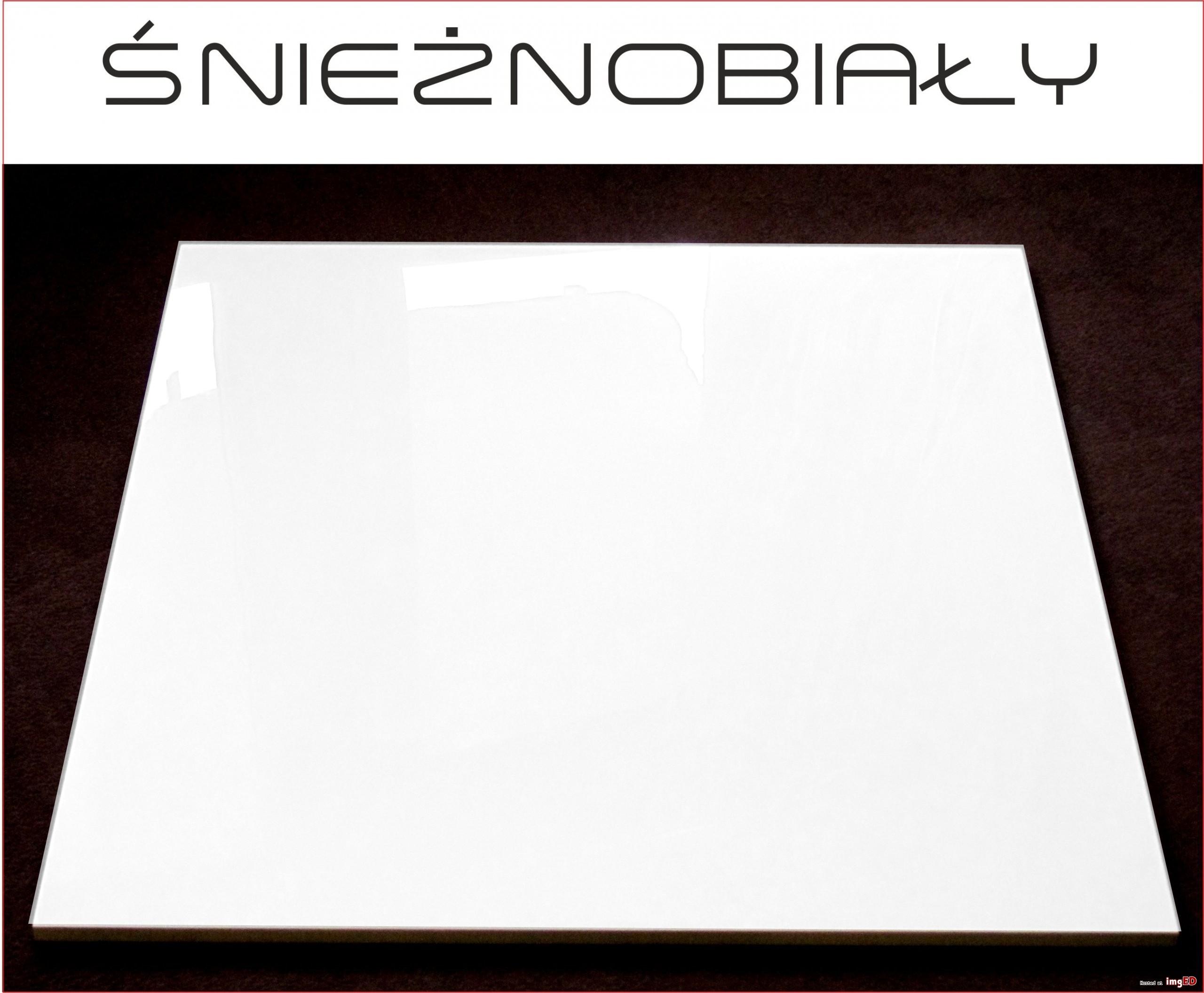 Extra Fine Płytka Gres Polerowany śnieżno Biała 80x80 Najbielsza Na