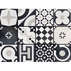Fioranese Cementine Black&White Mix 20x20 Patchwork