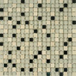 Dell Arte Mozaika Bianco Metallic BIA-ME 15 30,5x30,5