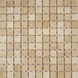 Dell Arte Mozaika Botticino Lappato 25x25