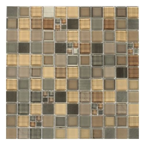 Dell Arte Mozaika Frames Silver 25x25