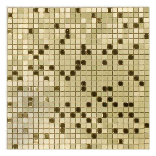 Dell Arte Mozaika Gold Flash 10x10