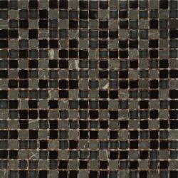 Dell Arte Mozaika Rustico Nero 15x15