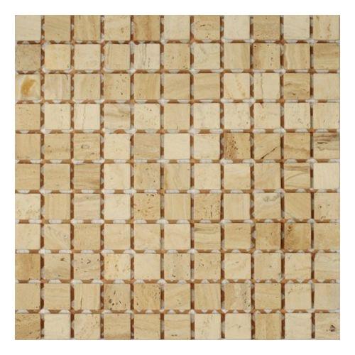 Dell Arte Mozaika Trawertino Florence 23x23