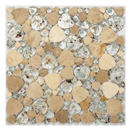 Dell Arte Mozaika Triangular Stoneglass