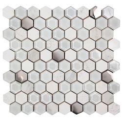 Ceramica Picasa Mozaika Hexagon White 30x30