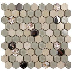 Ceramica Picasa Mozaika Hexagon Beige 30x30