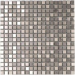 Ceramica Picasa Mozaika Metallico Silver