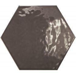Equipe Hexatile Oscuro Brillo 17.5x20