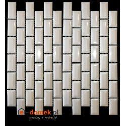 El Casa - Mozaika Retro Brick White 30,0x30,0
