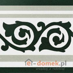 El Cas-a Ceramica Anastasia Border Grey 20x20