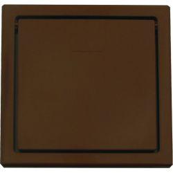 VACUFLO Gniazdo wyrzutowe USTM, ciemno brązowe