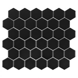 Dunin Hexagon Black 51 Matt - 282x271