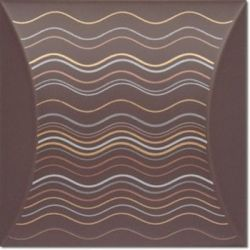 Decus Bent Dune Chocolate 15x15