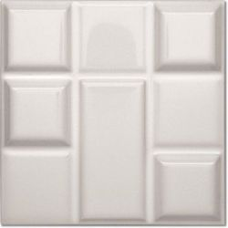 Decus Tetrix Blanco Brillo 15x15