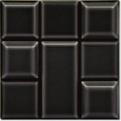 Decus Tetrix Negro Brillo 15x15