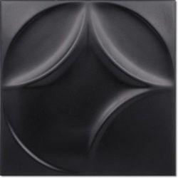 Decus Expression Negro Mate 20x20