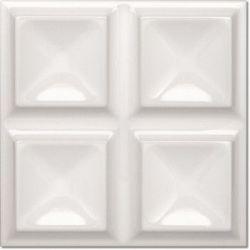 Decus Cubos Blanco Brillo 20x20