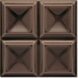 Decus Cubos Chocolate Brillo 20x20