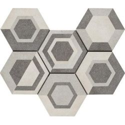 Ragno Rewind Decoro Geometrico Vanilla R4DT 21x18,2