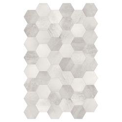 Terratinta Betonaxis Esagona White/Grey TTBAEWG 21x18,2
