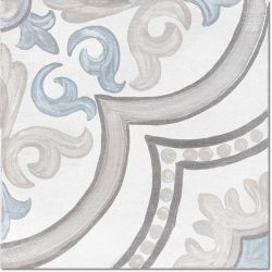 Cifre Adobe Decor Daiza White 20x20