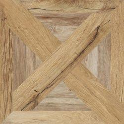 Flaviker Nordik Wood Palace Beige/Gold Rett 60X60
