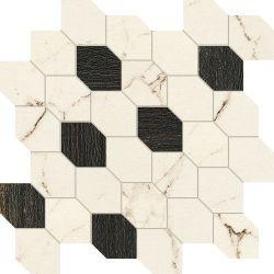 Tubądzin By Maciej Zień PARIS - Mozaika gresowa Madeleine 3 29,8x29,8