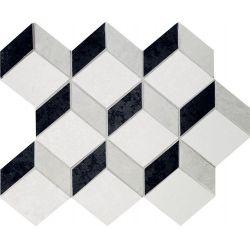 Tubądzin By Maciej Zień BARCELONA - Mozaika podłogowa Barcelona 2A 24,5x29,8