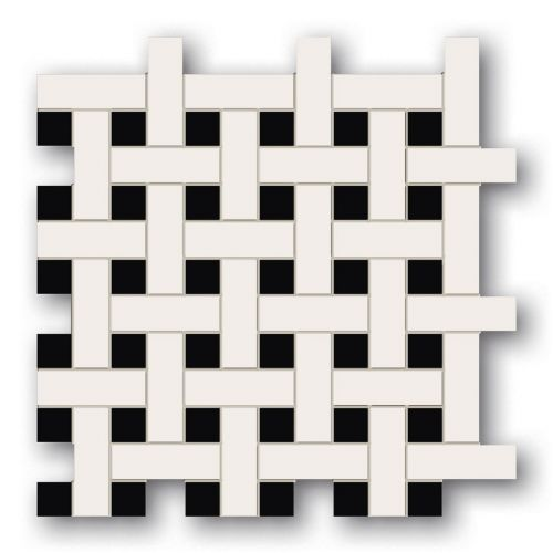 Tubądzin By Maciej Zień LONDON - Mozaika podłogowa Tower Hill 2 29,8x29,8