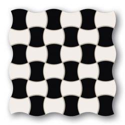 Tubądzin By Maciej Zień LONDON - Mozaika podłogowa Bond Street 3 29,8x29,8