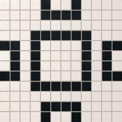 Tubądzin By Maciej Zień MONACO - Mozaika podłogowa Rivage 2 29,8x29,8