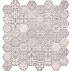 Dell Arte Mozaika HEXAGON GRIGIO HE-GRI 28,5x30