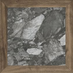 Fanal Heritage Losanga Stone Black 90x90 Rec. NPLUS