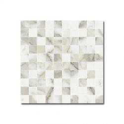 SANT'AGOSTINO — Inspire Mosaico Calacatta 25,0x25,0