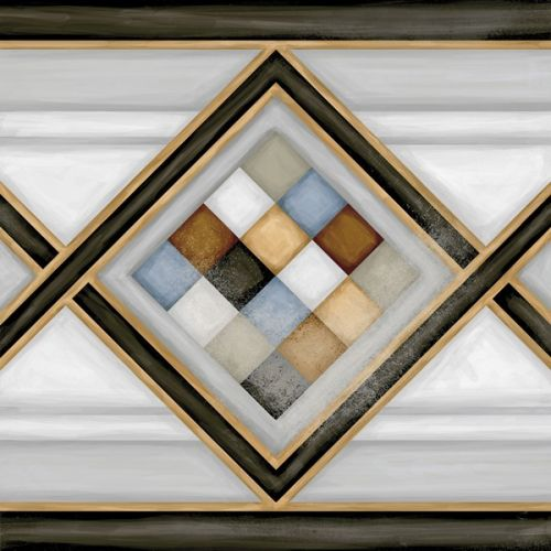 Vives Vodevil Pombo - 2 Multicolor 20x20