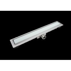 BALNEO G-Drain 60 cm Szklany odpływ liniowy ( MILKY , DARK )