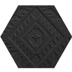 41zero42 Clay41 Esagona Navajo Black 22,5x19,5