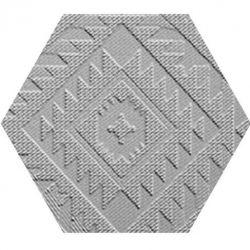 41zero42 Clay41 Esagona Navajo Grey 22,5x19,5